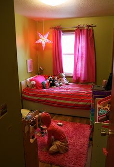 What a sweet little girls room