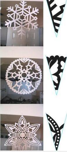 Paper Snowflake 4