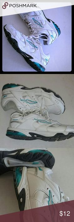 AVIA LEATHER TENNIS SHOES Design as Shown Lots of Life Left :) Gently used Condition Avia Shoes Sneakers