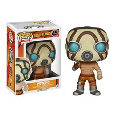 This is a Borderlands POP Psycho Vinyl Figure that is produced by Funko. Borderlands is an amazing video game franchise and it's great to see that Funko decided to give the characters of Borderlands a