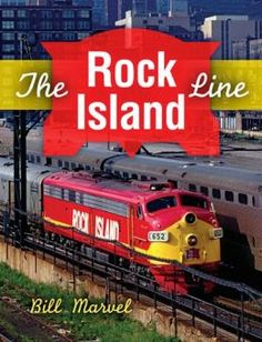 """""""The Rock Island Line"""" by Bill Marvel.  This richly illustrated volume tells the story of a legendary railroad whose tracks spanned the Midwest, serving farms and small-town America for more than 140 years. Rock Island's celebrated Rocket passenger trains also set a standard for speed and service, with suburban runs as familiar to Windy City commuters as the Loop."""