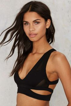 Nasty Gal You Got Moves Cutout Bra | Shop Clothes at Nasty Gal!