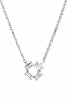 Main Image - Dana Rebecca Designs Sadie Diamond Pendant Necklace