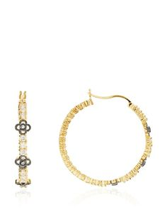 Belargo Triple Flower Two-Tone Hoop Earring, http://www.myhabit.com/redirect/ref=qd_sw_dp_pi_li?url=http%3A%2F%2Fwww.myhabit.com%2F%3F%23page%3Dd%26dept%3Dwomen%26sale%3DA314T9OR0LDSVC%26asin%3DB00BULOVS0%26cAsin%3DB00BULOVS0