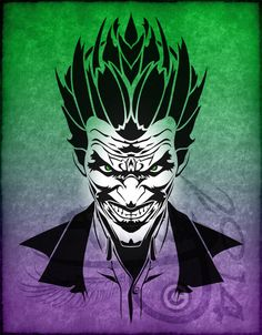 Tribal Tattoo The Joker V1 by Amoebafire