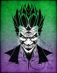 Tribal Tattoo The Joker V1 by Amoebafire