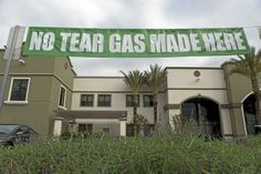 Sriracha hot sauce factory in Irwindale raises banner: 'No Tear Gas Made Here'