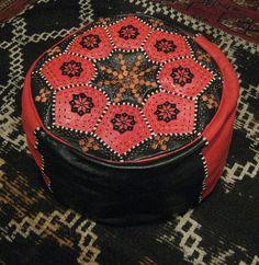 Moroccan footstool