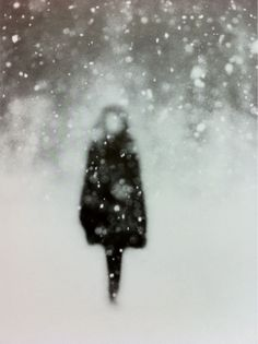 snowy silhouette