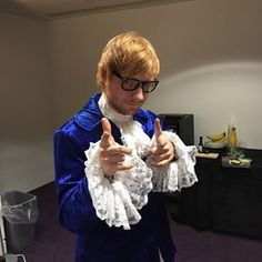 His Halloween costume was also pretty epic.   39 Things Ed Sheeran Did In 2014 That Were Utterly Perfect