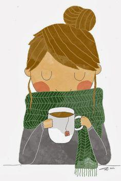 Café, té, pastas y... una tarde entre labores