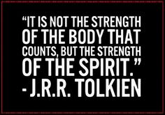 Strength of the spirit