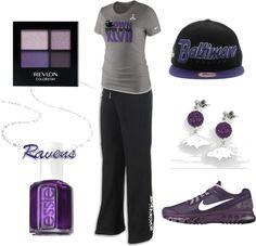 Ravens Super Bowl Fashion