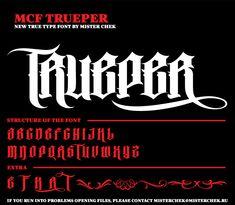 MCF_TRUEPER font by MisterChek on deviantART
