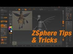 Zbrush 4r6 ZSphere tips & tricks HD - YouTube