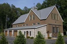 Spectacular Contemporary Barn House W Living Quarters 8 Pictures Metal