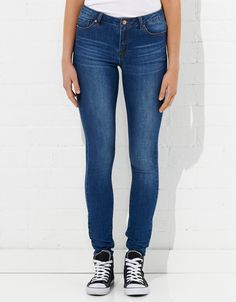 Image for Mid Rise Skinny Basic Jean from Jay Jays