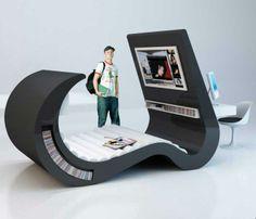 More creative furniture.