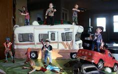 "the walking dead | Pastel ""The Walking Dead"" | Vagabundos MX"