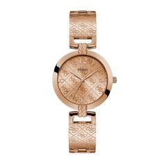 GUESS ASHEVILLE W1228L3 | Hodinkar.sk Mesh Bracelet, Adjustable Bracelet, Bracelet Watch, Bracelets Roses, Bangle Bracelets, Bangles, Rose Gold Watches, Michael Kors, Black Rings