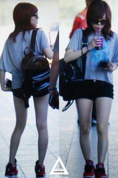 SNSD Sunny airport may 2014