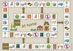 "Viaje de ideas: campo ""Im Haus"" para inglés y DAZ English Games, English Activities, Preschool Activities, German Language Learning, Teaching English, Learn German, Learn English, Teaching Social Skills, Classroom Language"