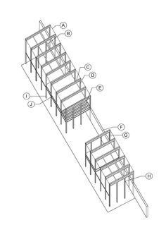 Eames House: Eames House Frame Construction