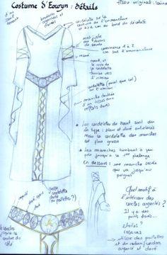 Pour un Nouvel An costumé, il y a quelques années (2003 il me semble) je me suis lancée dans une entreprise ardue : le costume d'Eowyn dans...