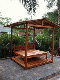 Cabana - traditional - gazebos - new orleans - Randy Johnson Custom Furniture
