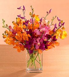 tropical flower arrangement for jungle themed baby shower