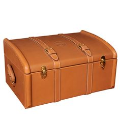 Rare Hermes Leather Trunk