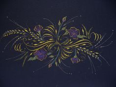 Expanded Cartouche on black paper | Flickr - Photo Sharing!