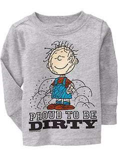 Not for the picture... but he just needs this one in general lol Pig-Pen® Tees for Baby