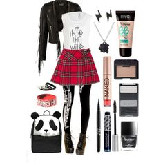 Adventuring After School by bagheera57 on Polyvore featuring Feather 4 Arrow, Balmain, ASOS, MARC BY MARC JACOBS, Wet n Wild, NARS Cosmetics, Christian Dior, Stila and Urban Decay