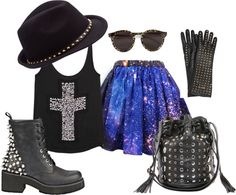 """""""Funky"""" by theereemo on Polyvore"""