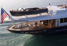 """New Launch: Burger 151' """"Sycara IV"""" Classic Fantail Cruiser - Burger Yacht 