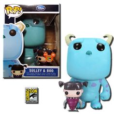 9 Sulley and Regular Boo - Monsters Inc. - Comic Con Exclusive - Funko Pop! Vinyl Figures   WANT!!!!