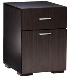 Shop Comfort Products Inc. Olivia File Cabinet Espresso at Best Buy. Find low everyday prices and buy online for delivery or in-store pick-up. Types Of Cabinets, Wood Cabinets, 2 Drawer File Cabinet, Hanging File Folders, Basement Office, Lateral File, Hanging Files, Black Desk, Cabinet Making