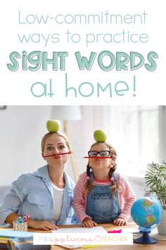 Want to keep the learning going while staying safe at home? This post shares 5 super simple and hands on ways to practice sight words as part of your distance learning routine.