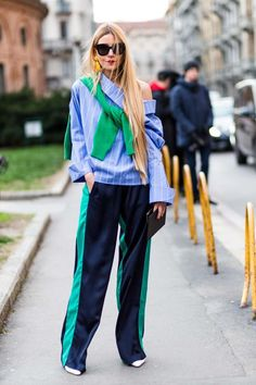 Milan Fashion Week street style autumn/winter '18/'19 - Vogue Australia