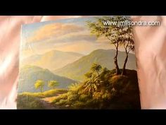 acrylic landscape painting demo by JM Lisondra - YouTube