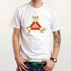 Montecristo Cuban Cigar Logo Custom White T-Shirt Tee All Size XS-XXL