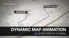 After Effects Tutorial: Animated Map