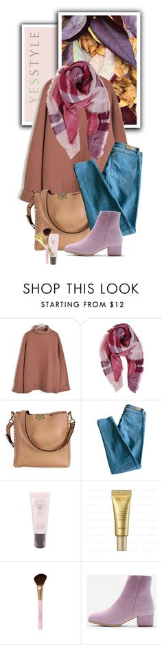 """YESSTYLE.com"" by monmondefou ❤ liked on Polyvore featuring Goroke, Humble Chic, Valentino and Sandro"