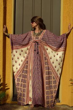 Vtg 60s 70s DiCarlo of CA India ethnic gypsy by Mystikbazaar