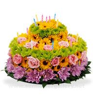 127 Best Fresh Flowers Cakes Images On Pinterest