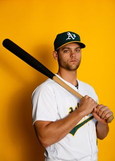 Chad Pinder  18 of the Oakland Athletics poses for a portrait during photo  day at f90f0db1b