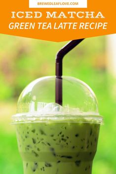Want to make a matcha latte healthy drink at home just like the matcha latte Starbucks makes? This easy homemade matcha latter recipe is quick to whip Milk Tea Recipes, Iced Tea Recipes, Green Tea Drinks, Green Teas, Passion Tea Lemonade, Matcha Latte Recipe, Matcha Green Tea Latte, Matcha Smoothie, Tea Powder