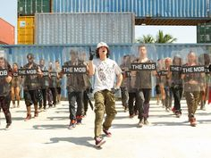 When Moose breaks it down in step up revolution at the end omfg I turn to a school girl.He's the best