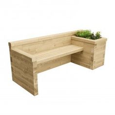 Single Planter Bench / x x Raised Garden Bed DIY Kits of all Shapes and Sizes Long Planter, Planter Bench, Raised Planter, Raised Garden Beds, Wooden Garden Seats, Wooden Garden Furniture, Garden Seating, Deck Planters, Wooden Planters